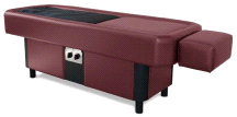Sidmar Pro S10 BURGUNDY Water Hydromassage Adjustable Jet Pressure Table