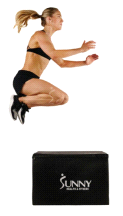 Sunny Fitness No 085 Weighted Foam Pro Plyo 3-in-1 Jumping Box