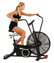 Sunny Fitness Exercise Tornado LX Fan Air Bike with Bluetooth
