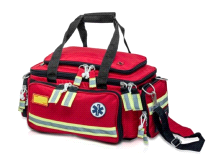 LLUSA Extreme BLS Elite RED First Responder Lightweight Duffle Bag