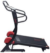 Sunny SF-T7878 Cardio Trainer Manual Treadmill w/ Adjustable Incline