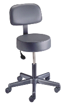 Brewer Doctor's Pneumatic Exam Stool