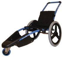 Vipamat Hippocampe Water-resistant Swimming-pool Wheelchair Blue