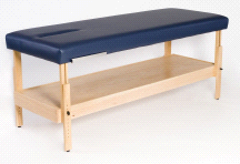 "Dura-Comfort Gallatin Physical Therapy Treatment Table 28"" Adjustable Height"