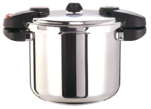 Buffalo Clad Quick Pot Stainless Steels Pressure Cooker Canner 8L