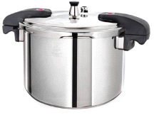 Buffalo Clad Quick Pot Stainless Steels Pressure Cooker Canner 12L