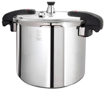 Buffalo Clad Quick Pot Stainless Steels Pressure Cooker Canner 15L