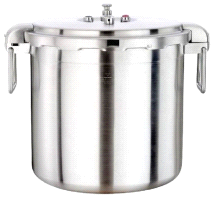 Buffalo Clad Quick Pot Stainless Steel Commercial Pressure Cooker Canner 30L