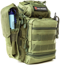 My Medic The Recon Basic Emergency First Aid Kit Green