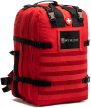 My Medic Basic Emergency First Aid Kit Red