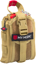My Medic Range Medic Advanced Emergency First Aid Kit Coyote