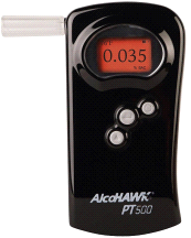 Alcohawk PT500 PT Core Fuel-Cell Breathalyzer Alcohol Screening Tester