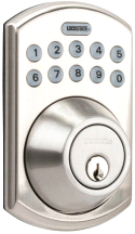 LockState RemoteLock Residential Wifi Deadbolt Smart Lock Satin Chrome