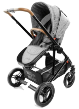 StrollAir Solo Single Lightweight Compact Stroller Denim Slate