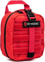 My Medic The MYFAK Basic Emergency First Aid Kit Red