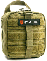 My Medic The MYFAK Basic Emergency First Aid Kit Green